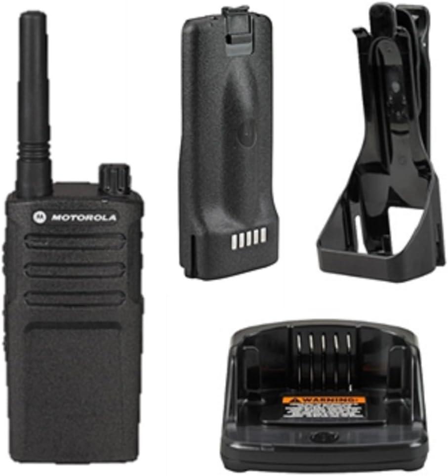 6 Pack Motorola RMU2040 Walkie Talkie Radios with Headsets