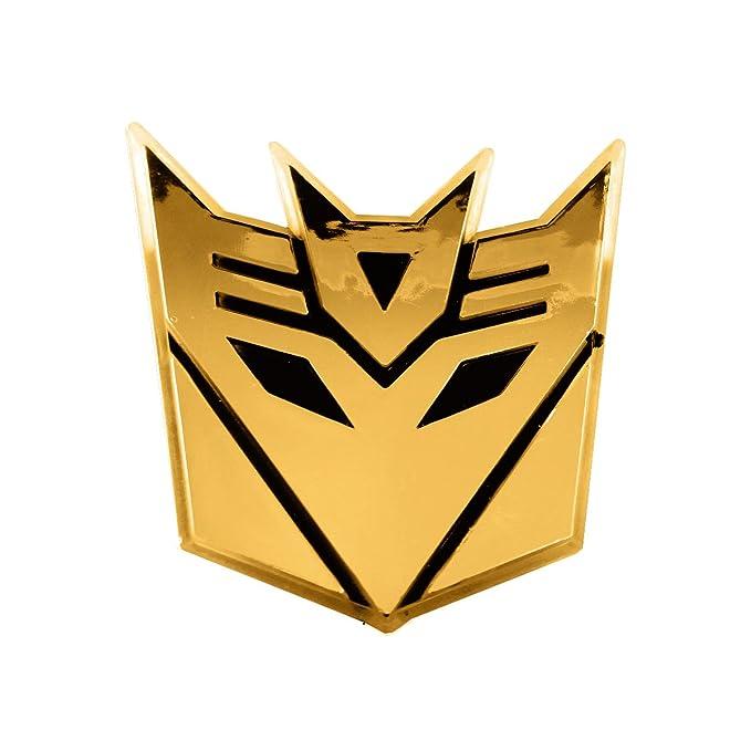 Amazon Transformer Decepticon Gold Finish Car Auto Emblem 3