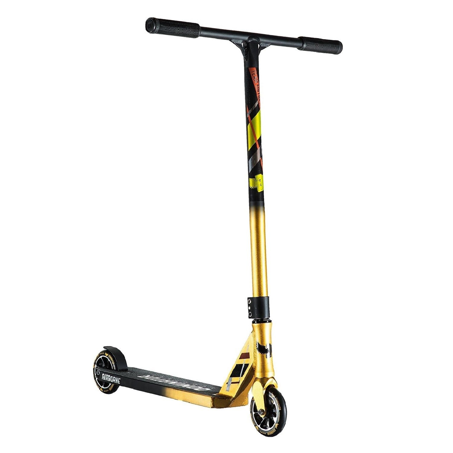 Dominator Airborne Pro Scooter (Team Edition Gold/Black) by  Dominator Scooters