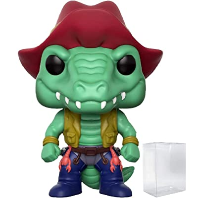 Funko Pop! Animation: TMNT Teenage Mutant Ninja Turtles - Leatherhead Specialty Series Exclusive Vinyl Figure (Includes Compatible Pop Box Protector Case): Toys & Games