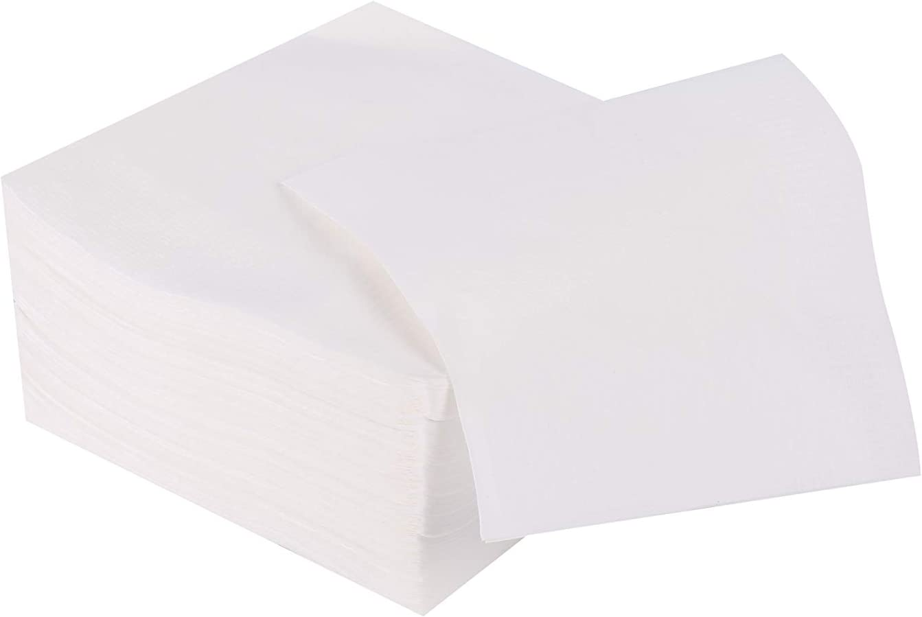 Gmark White Paper Beverage Napkins - 500 Counts - Bar Events Home Function Restaurant Paper Napkins GM1118A