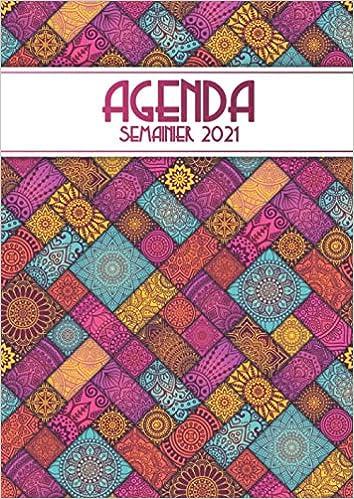 Agenda 2021: semainier et calendrier de décembre 2020 à janvier