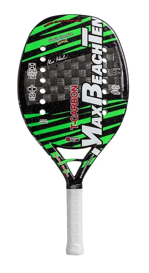 Pala de Tenis Playa MBT T-CARBON 2019: Amazon.es: Deportes y aire ...