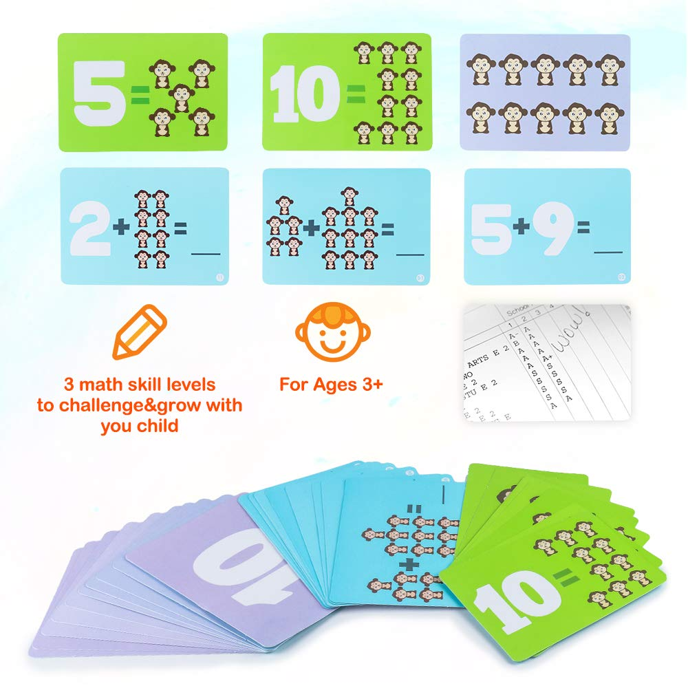 Toys & Games Counting & Math Toys 65-Piece Set CENOVE STEM ...