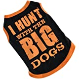 Howstar Pet Shirt, Cute Puppy T Shirt Dog Pet Clothes Summer Printed Apparel Soft Costumes