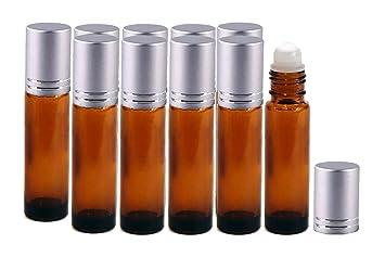 Amazon.com: Perfume Studio® 10 ml Ámbar Roller Botellas de ...