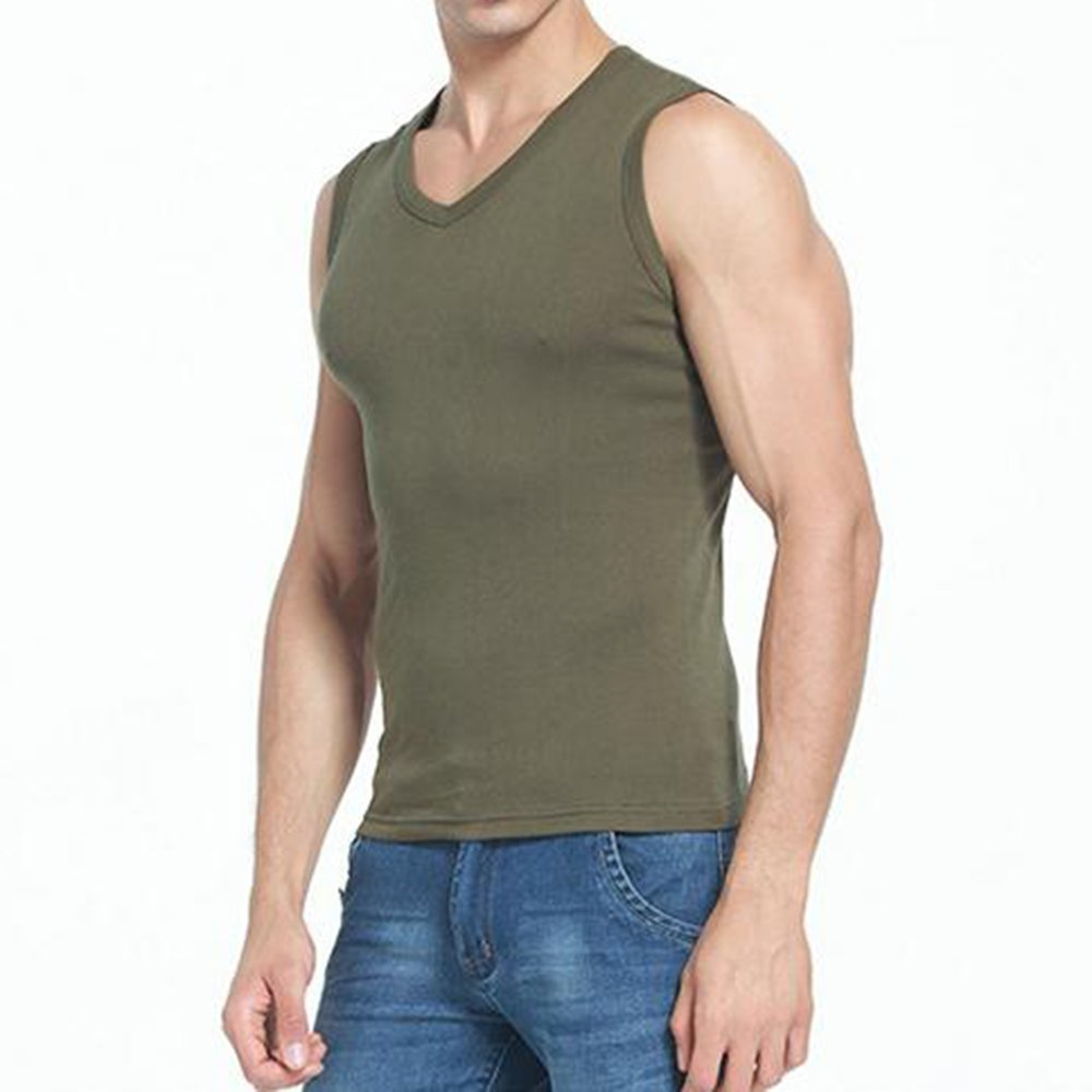 7a3c8f280e80be Bonboho Herren Crop Tops Fitness Muskelshirt Cut Off Tank Slim Fit ...