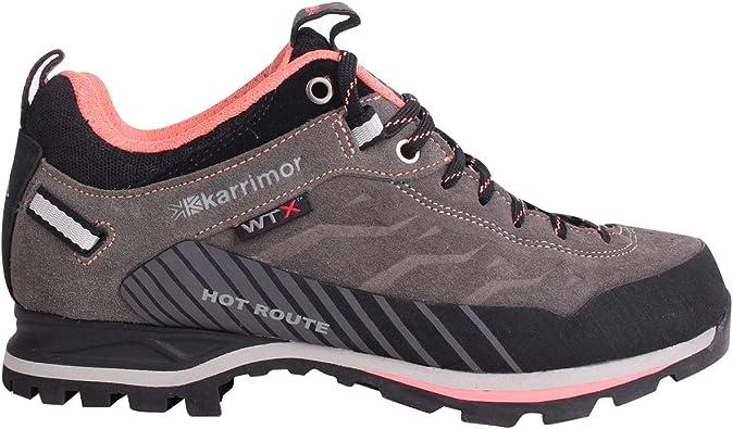 Karrimor Mujer Hot Route Zapatillas Impermeable Senderismo Carbón ...