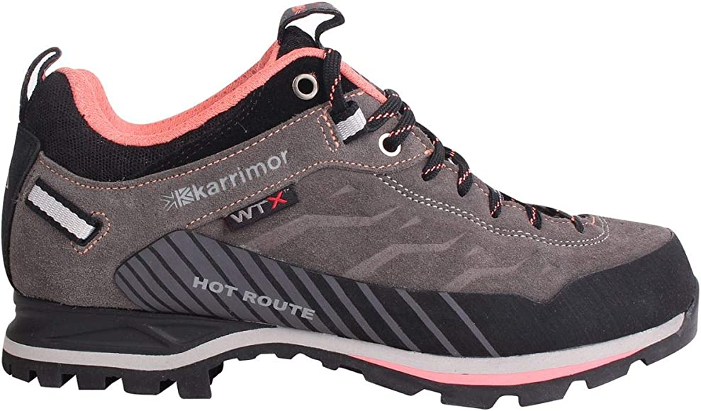 online retailer best wholesaler hot product Karrimor Womens Hot Route Waterproof Walking Shoes Breathable ...