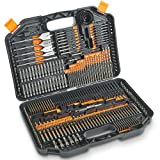 VonHaus 246-Piece Drill and Drive Bit Set with Titanium Coated HSS Bits