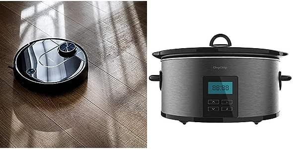 Cecotec Robot Aspirador Conga Serie 3690 Absolute + Chup Chup Olla de cocción Lenta de 5: Amazon.es: Hogar