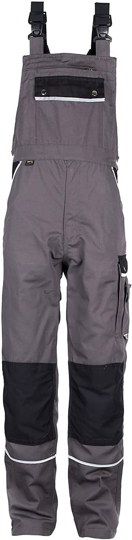 Schutz-Latzhose mit Kniepolster-Taschen TMG Arbeitslatzhose Herren