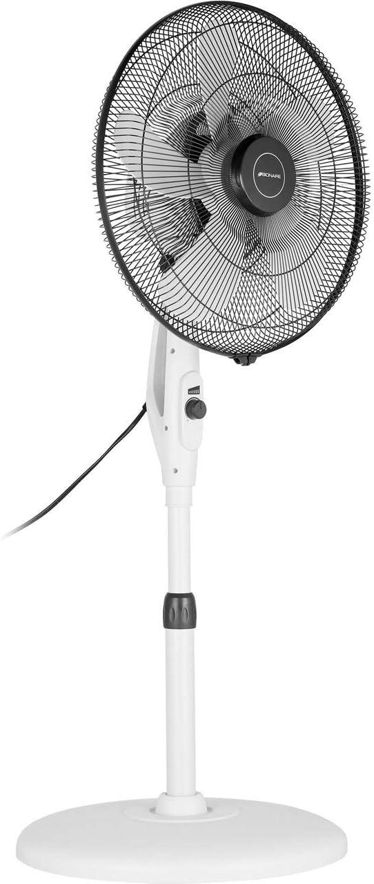BIONAIRE–bsf003X -01–Ventilador de pie de bajo consumo Energie–blanco 30W/pâles 40cm