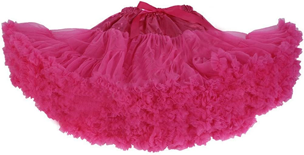 DELEY Donne Adulti Retro Sottogonna Vintage Fancy Petticoat Rockabilly Tutu Gonna