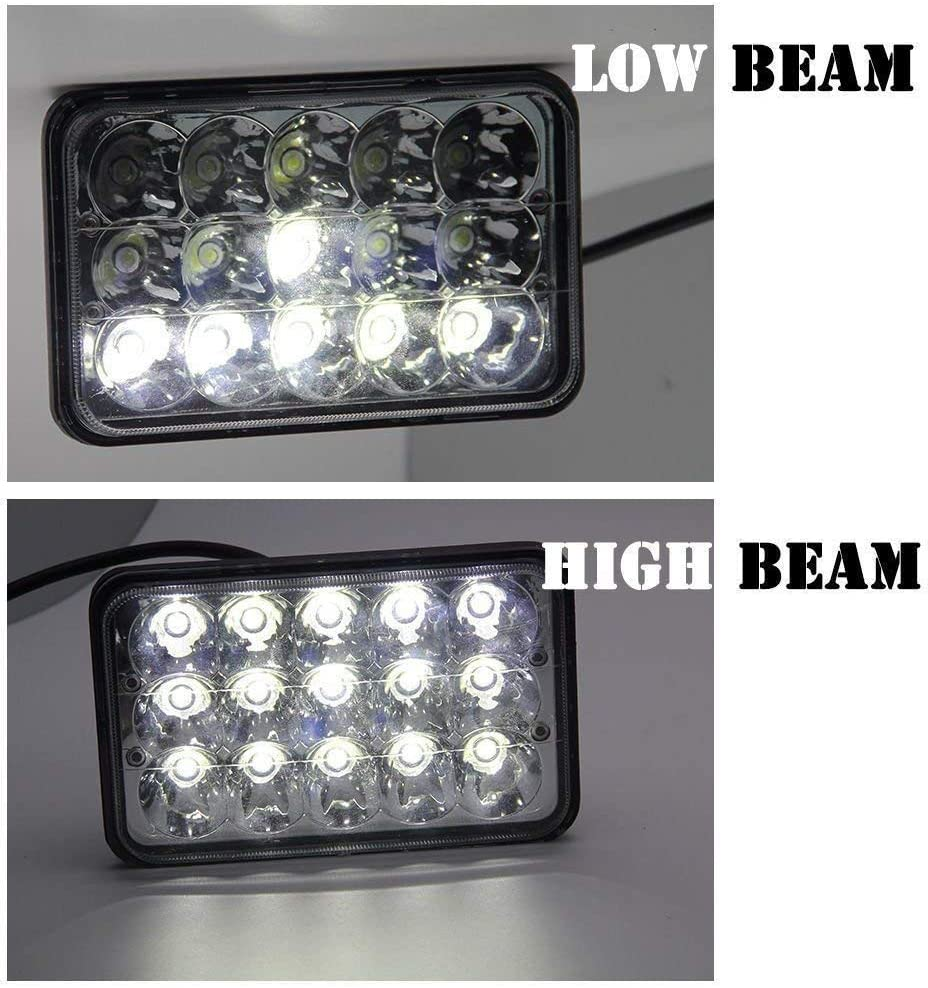 Lights Main Full Beam Extra Rectangle Fog Spot Lamps for Volvo 760