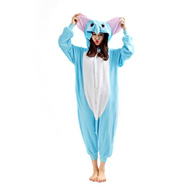 c13fdacee Casa Unisex Cosplay Kigurumi Adult Hooded Flannel Pajamas Sleepsuit Unicorn  Onesie Nightwear Jumpsuit Anime Cartoon Party Halloween Xmas Costume  Playsuit: ...