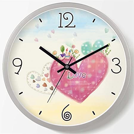 zj-wall clock Living Room Bedroom Stylish And Creative Atmosphere ...