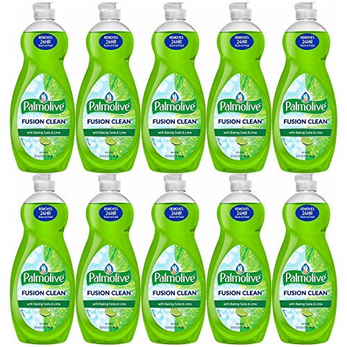 Palmolive Fusion Lime Clean Dish Soap, 32.5 Oz, Pack of 10 by Palmolīve