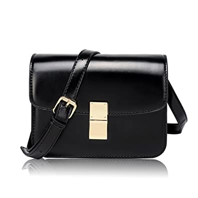 baf6a33798747 Olyphy Designer Crossbody Bag Purse for Women, Classic Box Shoulder Bag  Vintage Tofu Handbag (