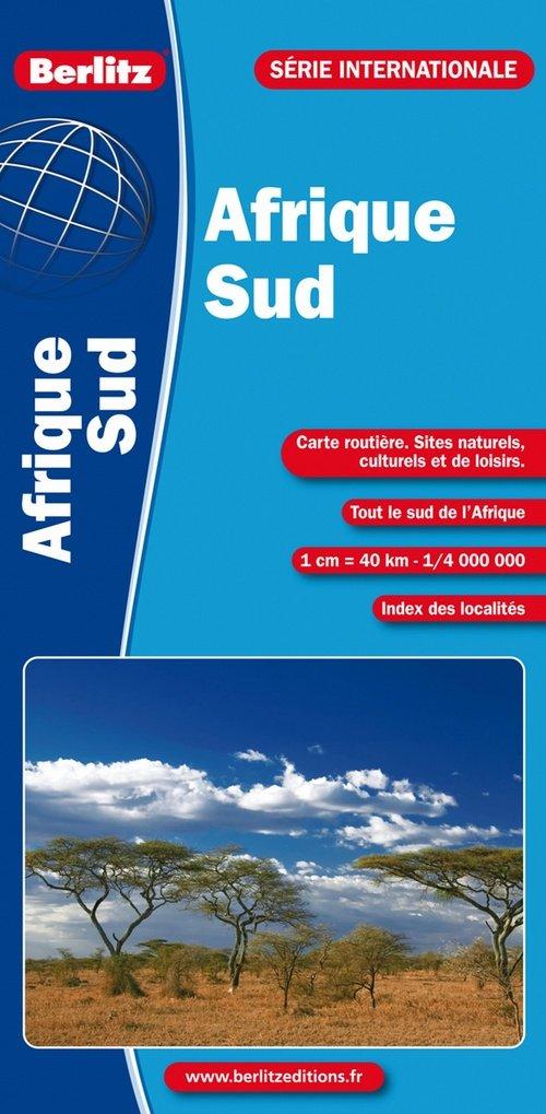Carte Ign Afrique Du Sud.Amazon Fr Carte Routiere Et Touristique Du Sud De L