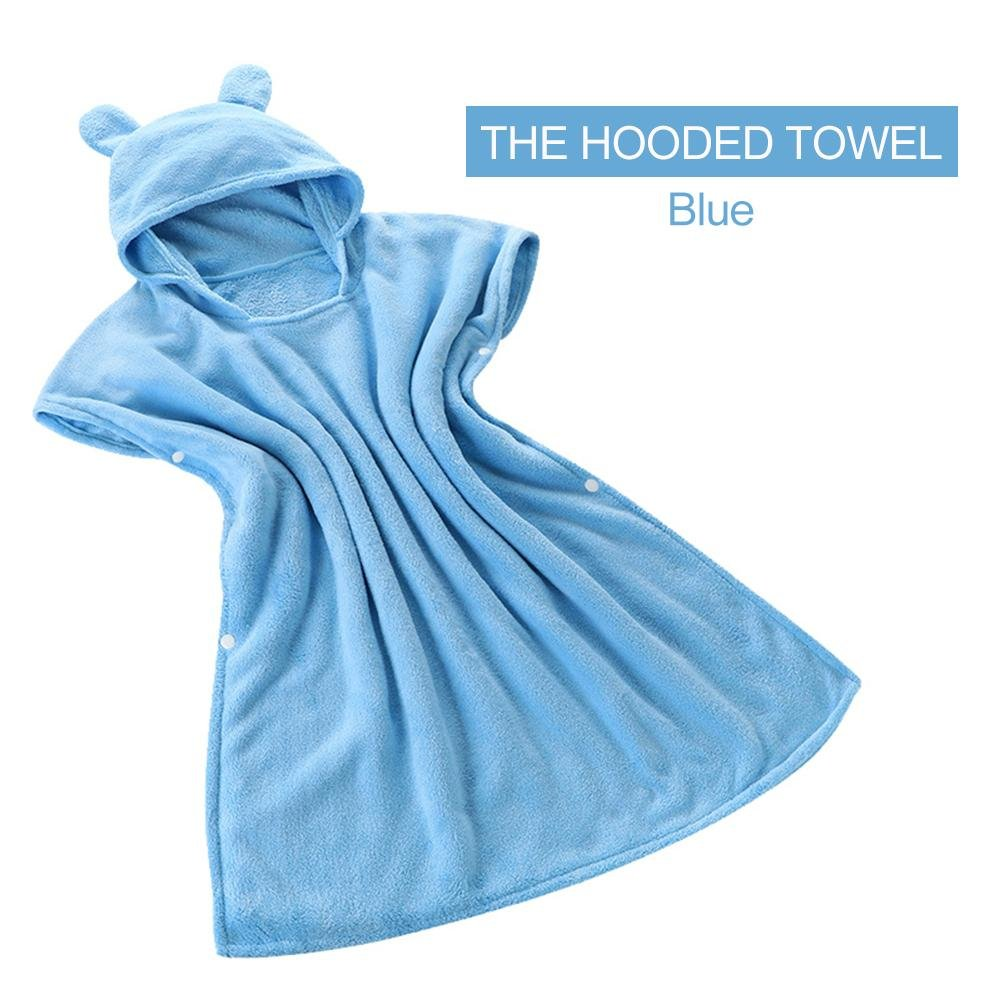 Comaie Soft Baby Towel For Infant Toddler Newborn And Kids Beach Children Ponchos Swimming Warm Perfect Shower Gift Durable Premium Towels Sensitive Skin Children'S Bear Hooded Bath Comaie®