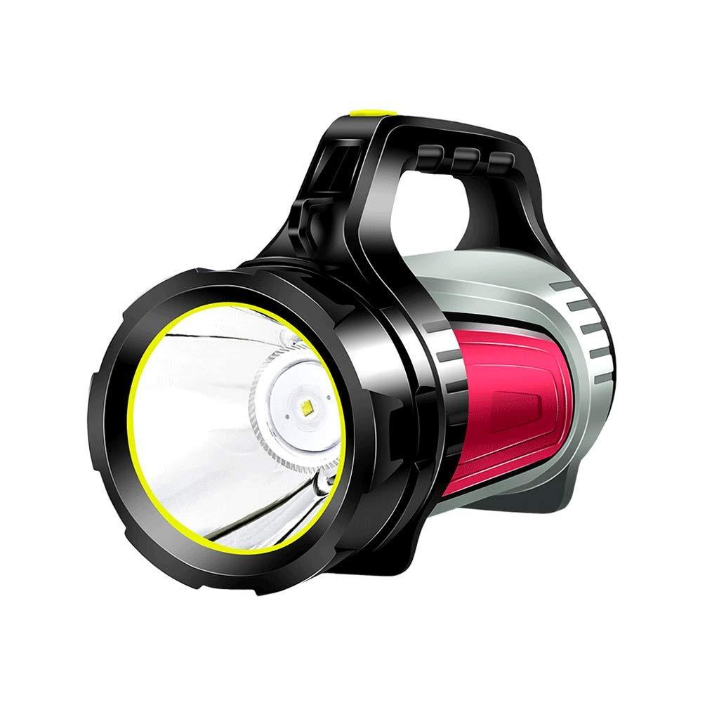 LS Starke helle Taschenlampe Wiederaufladbare super helle Wasserdichte Licht Multi-Funktions-Spezialeinheiten suchen Tragbare (Farbe : 7028S)