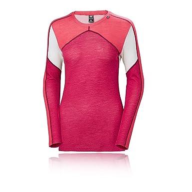 b05546d1f6e Helly Hansen W Hh Lifa Crew, Camiseta Deportiva para Mujer: Amazon.es: Ropa  y accesorios