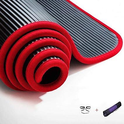 Amazon.com: DLJFU - Yoga mats Yoga Mat/Thickened Non-Slip ...