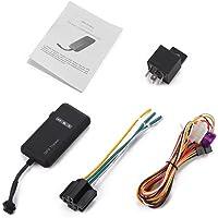 XCSOURCE Traceur Véhicule en Temps Réel Localisateur GPS/GSM/GPRS/SMS Traceur Système Antivol Voiture Moto Vélo AH208