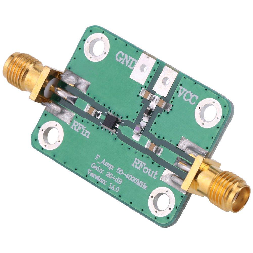 433 MHz RF Breitband Verst/ärker Amateurfunkmodul 22dB High Gain Low Noise LNA Verst/ärkermodul Bord