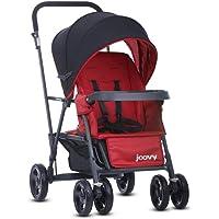 Joovy 8141 Caboose Graphite Stand on Tandem Stroller, Red