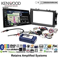 Volunteer Audio Kenwood Excelon DNX694S Double Din Radio Install Kit with GPS Navigation System Android Auto Apple CarPlay Fits 2007-2008 Ram, 2006-2007 Chrysler 300