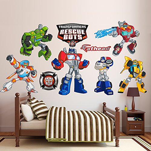 FATHEAD Transformers: Rescue Bots Collection-Giant Officially Licensed Removable Wall Decal