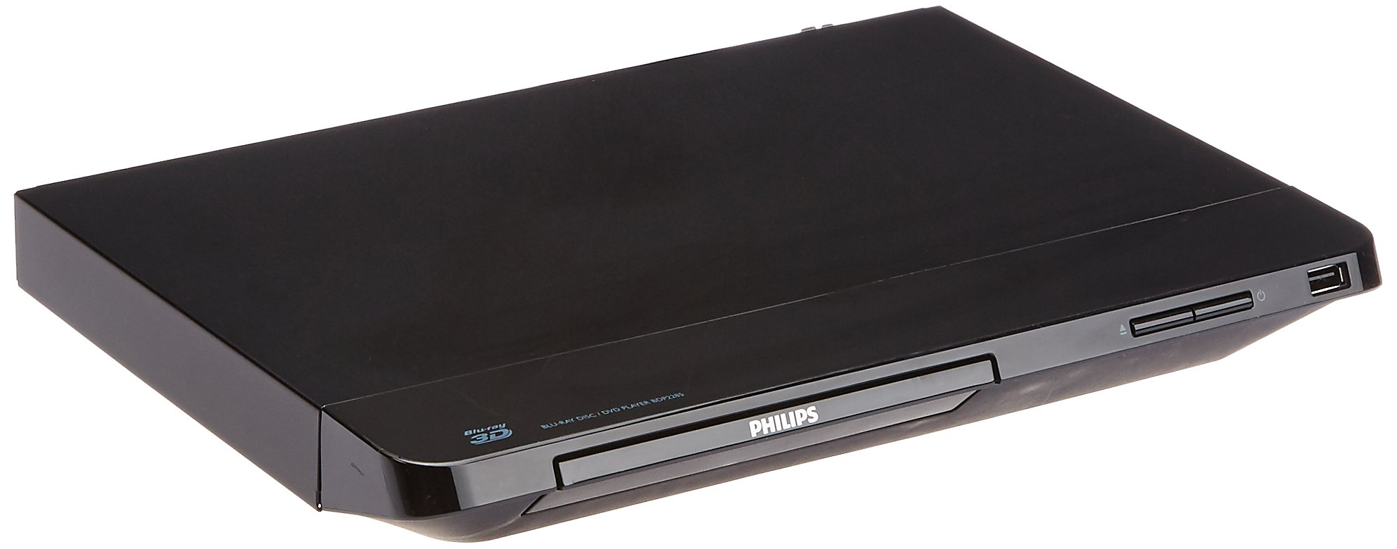 Philips BDP2285/F7B 3D Blu-Ray and DVD with Built-In Wi-Fi Refurbished (Black)