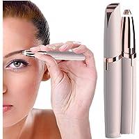 Flawless Brows Eyebrow Hair Remover Trimmer Eplitor Razor for Women, Lipstick-Sized Eye brow Epilator,Facial Hair Shaver…