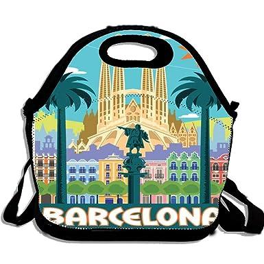 Amazon.com: Póster de viaje vintage de Barcelona España ...