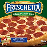 Freschetta Naturally Rising Crust Pepperoni Pizza, 27.35 Ounce -- 14 per case.