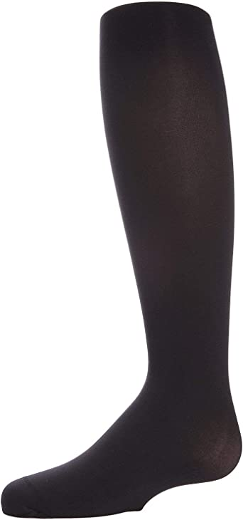 MeMoi Girls /& Infant Winter Opaque Tights Black 2--4