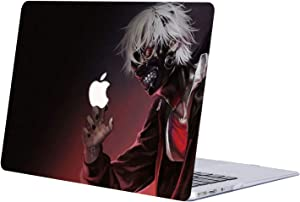 Hard Case Compatible with MacBook Air 13 (A1369 & A1466, Older Version 2010-2017 Release), AJYX Anime Series Plastic Pattern Hard Case Shell Cover Only for MacBook Air 13 Inch - JR156 Tokyo Ghoul