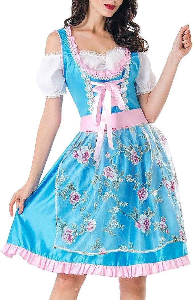 Vestido Corto Mujer, Disfraz De Halloween para Mujer Falda De ...
