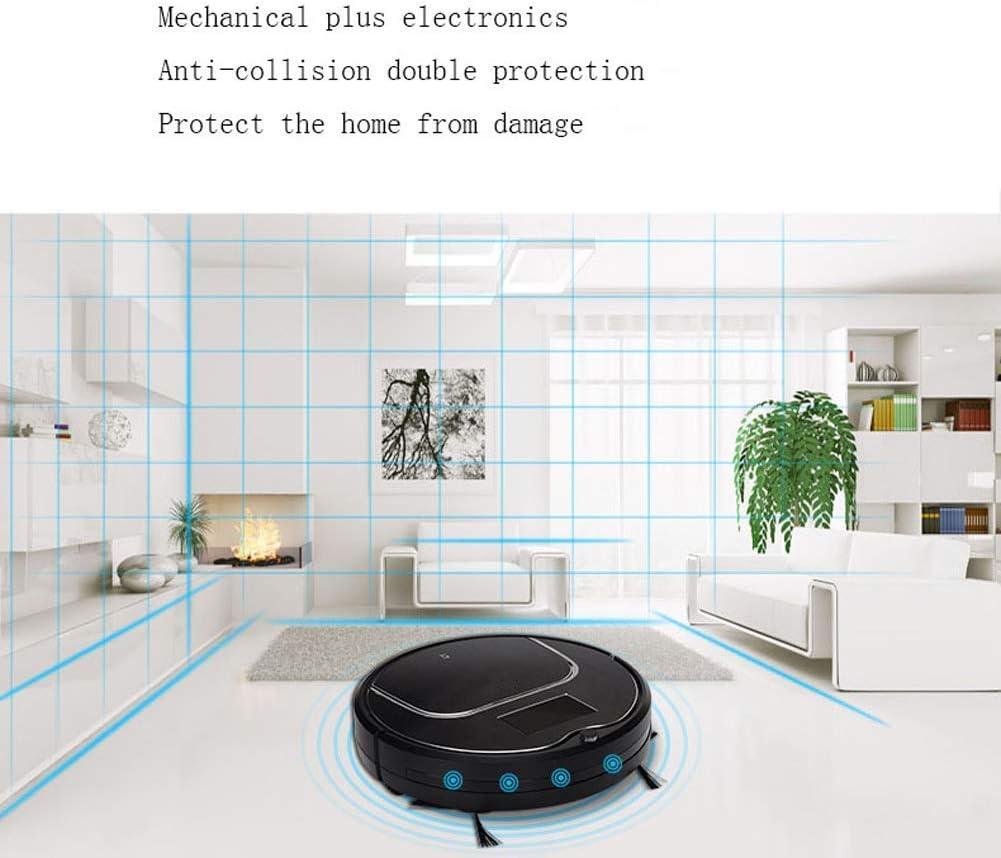 WNTHBJ Aspirateur Automatique, vadrouille IntelliDonnées Paresseux, aspirateur et Lave-Linge, ménage aspirateur Automatique,B A