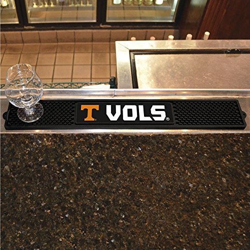 Tennessee Baseball Rug - FANMATS  14016  NCAA University of Tennessee Volunteers Vinyl Drink Mat