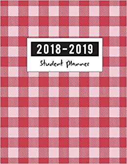 2018 2019 student planner school journal academic planner and