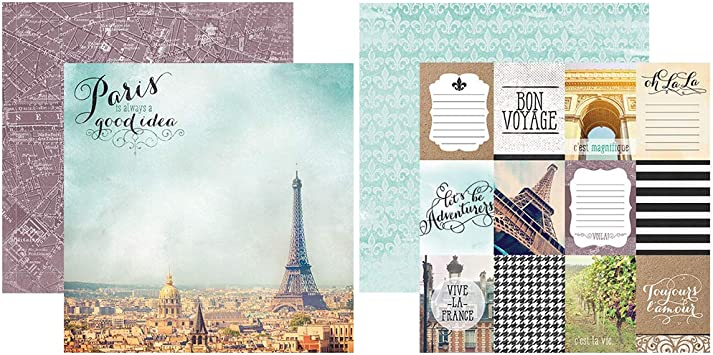 Paper House Productions KTSP-1037E France Page Kits Pack of 3