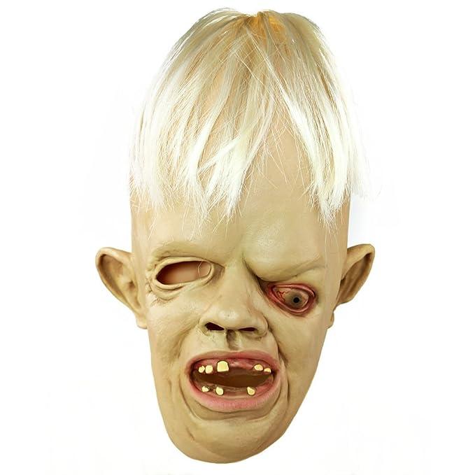 Halloween Eye perezoso de máscaras de teatro griegas máscara de látex de Deluxe Goonies disfraz 60350,4 cm s: Amazon.es: Hogar