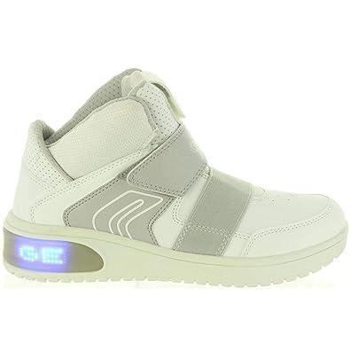 Geox Kinder High X LED,White J847QA 05411C1000 weiß 540510