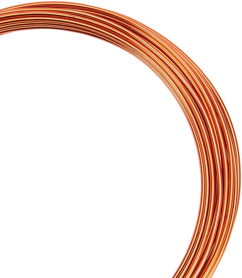 PandaHall/ Color melangee Aluminio 1.5/mm 1.5mm /Lote de 10/Rollo de Alambre de Aluminio Colore Misto#6 6/m//Rollo