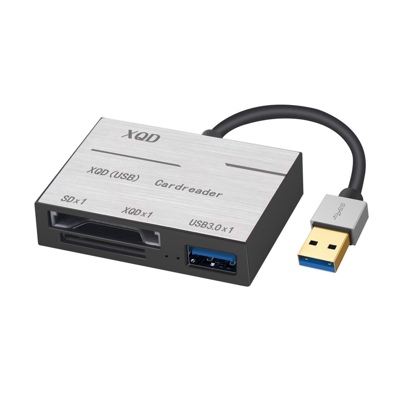 XQD Lector de Tarjetas, USB 3.0 SD XQD, Lector de Tarjetas ...