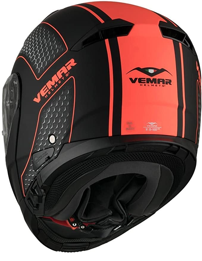 Amazon.es: Vemar Sharki - Casco de flúor de cáñamo mate, color naranja, talla 2XL