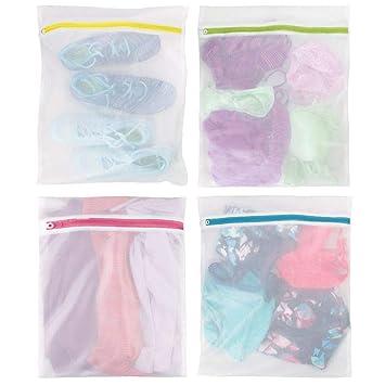 Amazon.com: MDesign - Bolsa de lavado y viaje de malla para ...